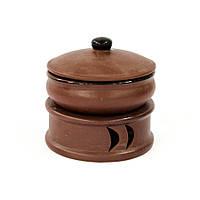 Таганок керамический для подачи первых блюд 0,5 л