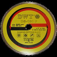 Алмазный диск по камню DWT TDS-180 F