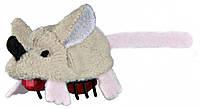 Игрушка Trixie Running Mouse для кошек плюшевая, 5.5 см
