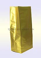 Пакеты с центральным швом 80х250 мм (золотые)