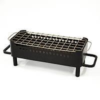 Мангал настольный для подачи стейков и шашлыка (черная сталь)