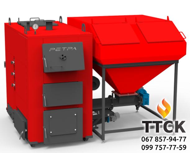 Твердопаливний котел Ретра-4М DUO потужністю 200 кВт