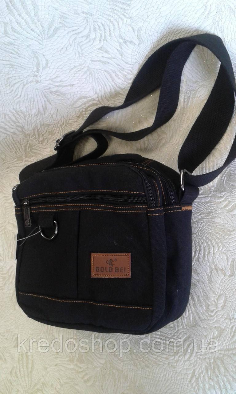 626ea28a6527 Сумка мужская черная тканевая прочная - Интернет-магазин сумок и  аксессуаров