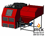 Твердопаливний котел Ретра-4М DUO потужністю 450 кВт, фото 2
