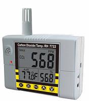Стационарный СО2 монитор/термогигрометр-контроллер AZ-7722