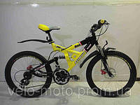 Велосипед AZIMUT SHOCK G-FR-D к24, к26