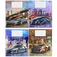 Тетрадь цветная 18 листов,линия «Концепт-кар»