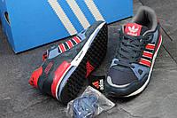 Кроссовки Adidas Zx 750 синие замша Вьетнам