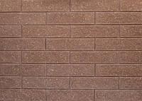 Плитка фасадная колотая Литос бордо
