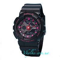 Часы Casio Baby G BA-110 Black Pink AAA