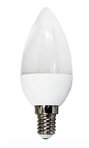 Светодиодная лампа Biom ВТ-595 C37 4W E14 3000K матовая