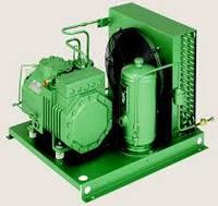Холодильний агрегат на базі компресора Bitzer 4FC-3.2y, б/в, з новим конденсатором,  2012 р.в.