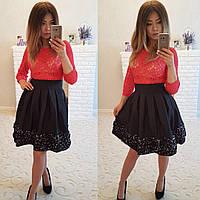 d48732600aa Ткань гипюр стрейч в категории платья женские в Украине. Сравнить ...