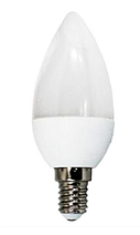 Світлодіодна лампа Biom ВТ-595 C37 4W E14 4500K матова
