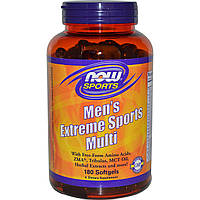 Витамины для мужчин NOW Men's Extreme Sports Multi (180 капс)