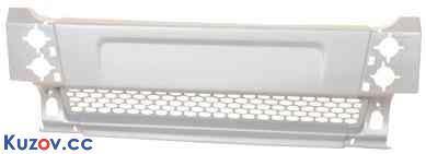 Передний бампер Ford Transit 00-06 средний, темно-серый (FPS)