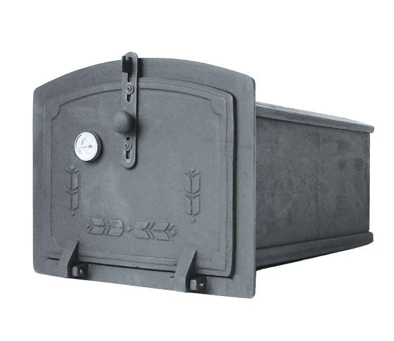 Духовка для печи с термометром  (24,5 х 31 х 44,5 см)