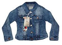 Куртка джинсовая для девочек оптом, Seagull, 134-164 рр.,  № CSQ-89863, фото 1