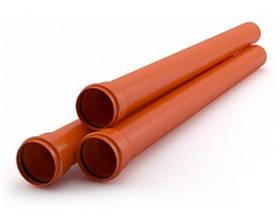 Канализационные трубы пвх для наружной прокладки Акведук