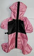 Дождевик-комбинезон такса большая (47х60см)с капюшоном (Лори)