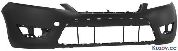 Передний бампер Ford Mondeo 07-10 без омывателя, без отв. парктроника