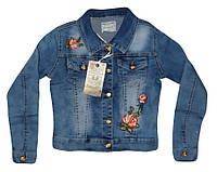 Куртка джинсовая для девочек оптом, Seagull, 134-164 рр.,  № CSQ-89865
