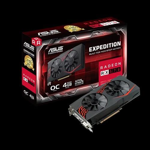 Видеокарта ASUS RX 570 4Gb EX-RX570-4G