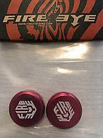 Заглушки руля FireEye красный, фото 1