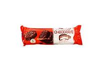 Шоколадное сендвич печенье с глазурью Chocopaye