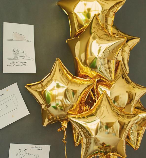 Фольгированные шарики Звезды