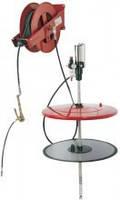 Стационарная пневматическая установка под емкость 180-200 л
