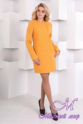 Женское кашемировое осеннее пальто арт. Фортуна лайт 6985, фото 2