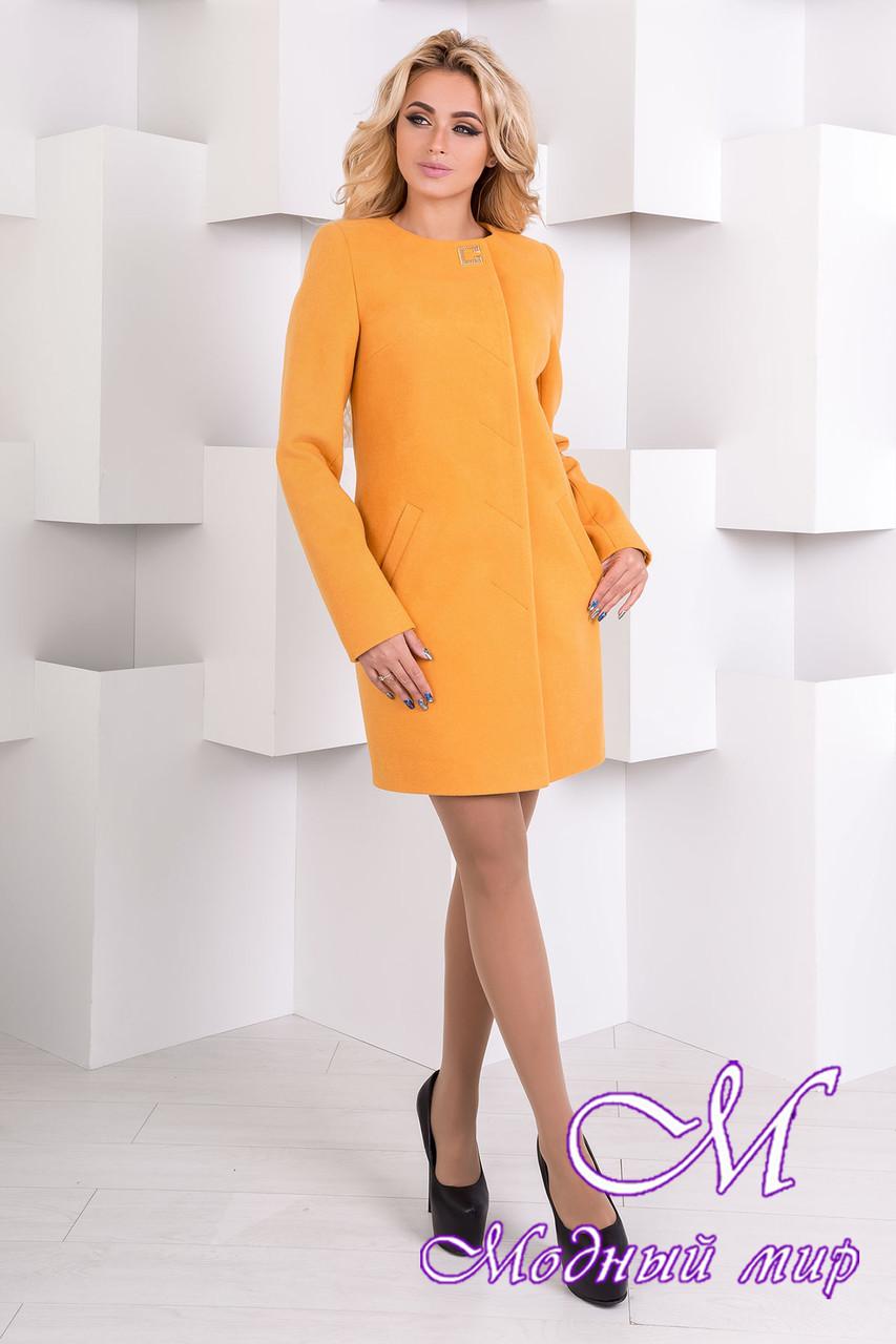 Женское кашемировое осеннее пальто арт. Фортуна лайт 6985