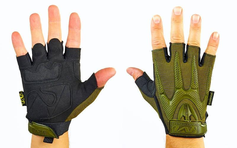 Перчатки тактические с открытыми пальцами MECHANIX WEAR  Оливковый, L - ADX.IN.UA в Одессе