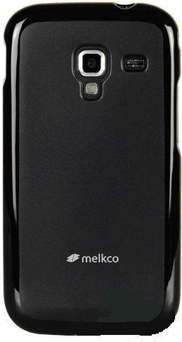 Накладка Melkco для Htc Desire SV T326e черная