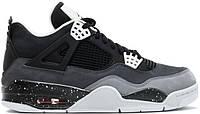 """Кроссовки Jordan 4 Retro """"Black Grey"""""""