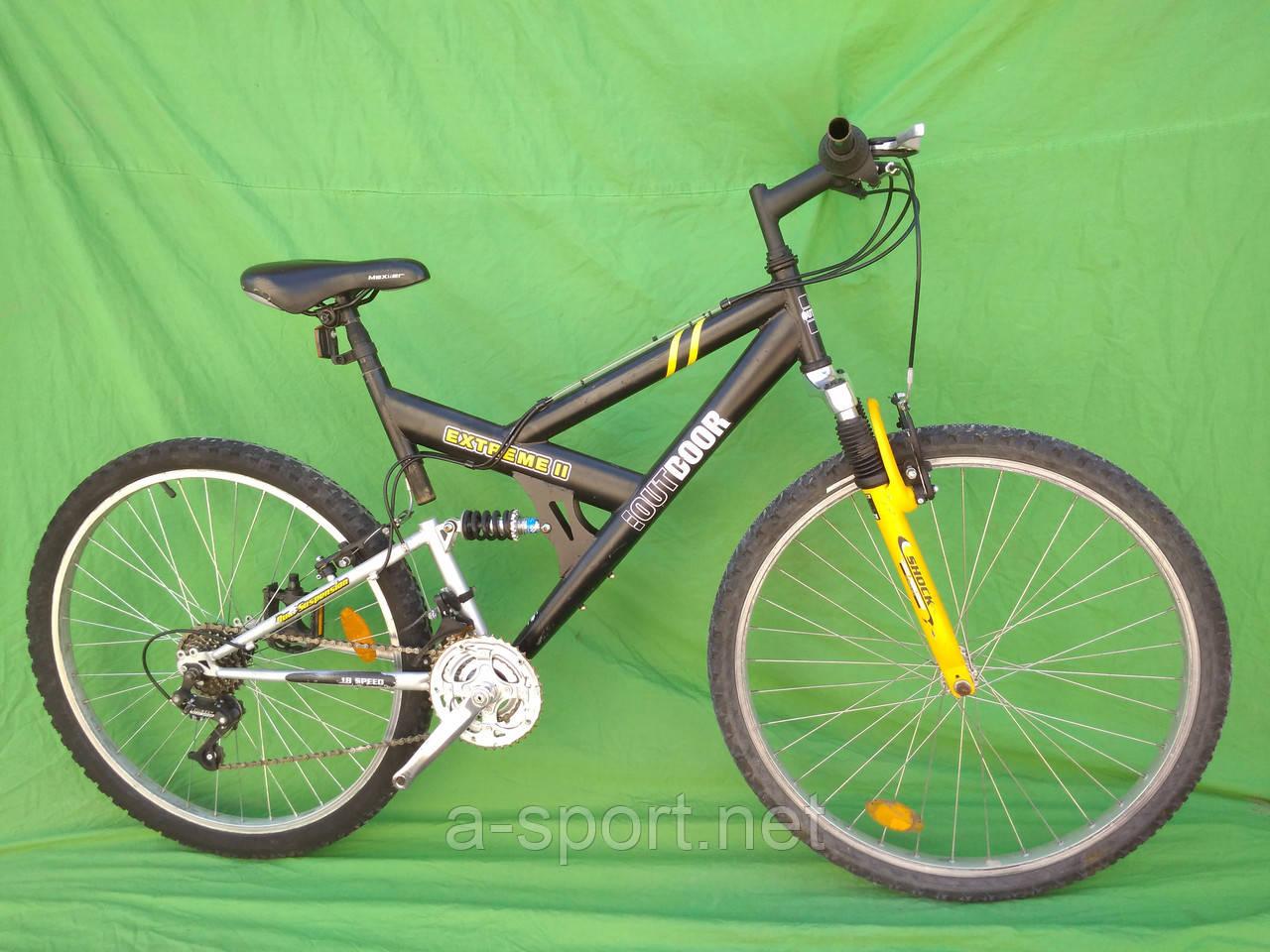 Гірський велосипед , двохпідвіс Outdoor