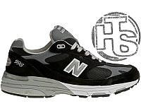 Мужские кроссовки New Balance 993 USA Black WR993BK. Любимые кроссовки  Джобса f38d179db5e3c