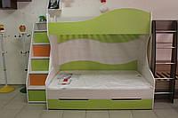 Кровать детская двух ярусная 7-3-2-97