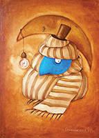 """Арт открытка """"Джентельмен"""""""