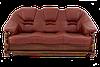 """Трехместный раскладной кожаный диван """"LORD"""" (210см)"""