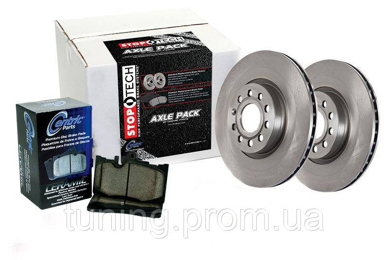 Комплект диски и колодки задние Stoptech для Nissan Leaf 2011-2017