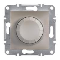 Светорегулятор поворотный  (315 ВТ)  бронза (для диммеруемых LED ламп) ASFORA Schneider Electric EPH6600169