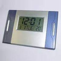 Настольные электронные часы будильник градусник  Kenko KK-6603