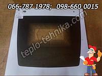 Стекло внешнее панорамное заграничной плиты размером 49,6х47,1 см с отверстиями под ручку, фото 1