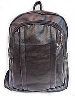 Женский рюкзак из кож.зама черный r 004