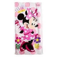 Детское махровое полотенце Disney оригинал Минни Маус