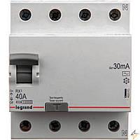 RX3 ДИФ.РЕЛЕ 4П 40A 30MA -AC   402063