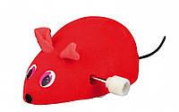 Игрушка Trixie Wind Up Plush Mouse для кошек заводная, 7 см, фото 1