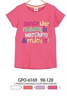 Футболка для девочек Glo-story  98-128 рр. арт.GPO-6169